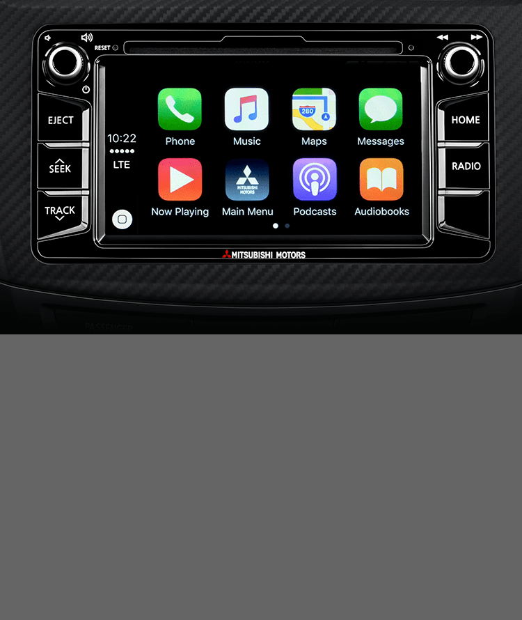 The Limited Edition features Apple CarPlay<sup>TM</sup><APPLE002> onboard, so your entire Apple ecosystem is ready to go.