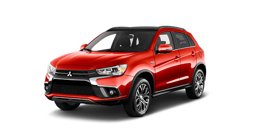Rally red metallic 2018 Mitsubishi Outlander Sport Exterior 360 View