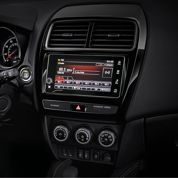 "Listen to HD Radio® on the standard 7"" touchscreen display audio system."
