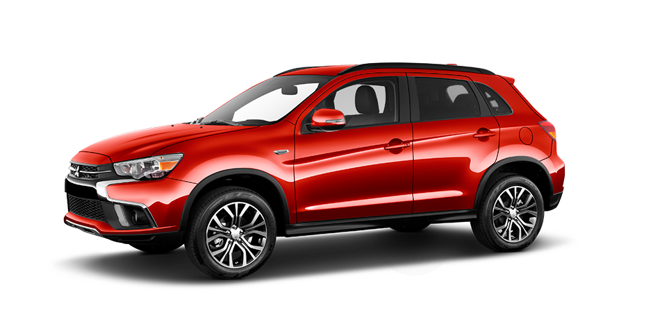Rally red metallic 2019 Mitsubishi Outlander Sport Exterior 360 View
