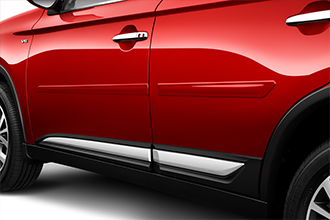 side molding accessories for 2016 Mitsubishi Outlander doors