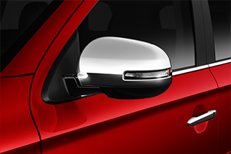 chrome side mirror covers 2016 Mitsubishi Outlander