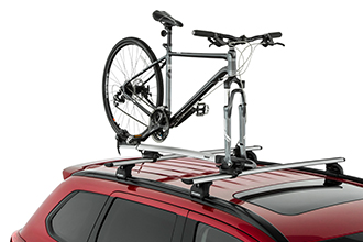 roof bike fork rack accessory 2016 Mitsubishi Outlander Crossover SUV