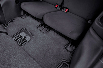 3rd row floor mat 2016 Mitsubishi Outlander accessories