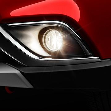 front fog lights on 2016 MItsubishi Outlander SE, SEL, and GT trims
