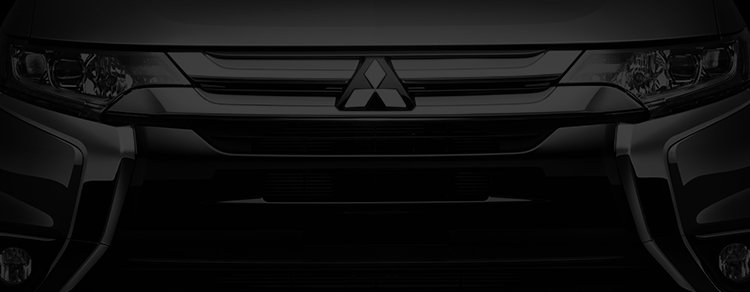 2016 Mitsubishi Outlander Crossover Utility Vehicle grill all black