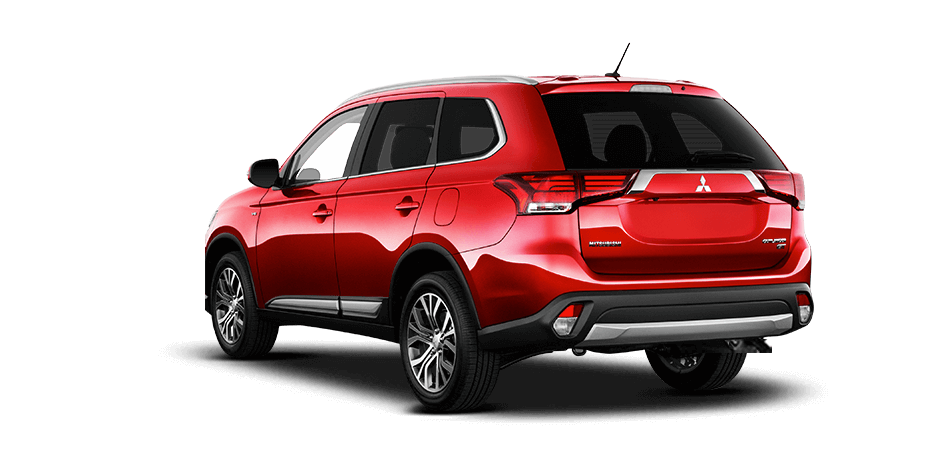 Rally red 2016 Mitsubishi Outlander Exterior 360 View