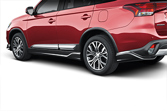 side air dams for top safety pick 2017 Mitsubishi Outlander accessories