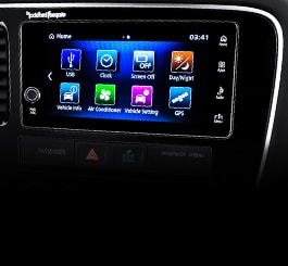 Touch Screen 2018 Mitsubishi Outlander