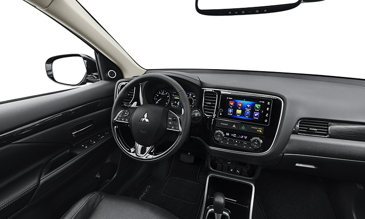 mitsubishi outlander interior pictures. Black Bedroom Furniture Sets. Home Design Ideas