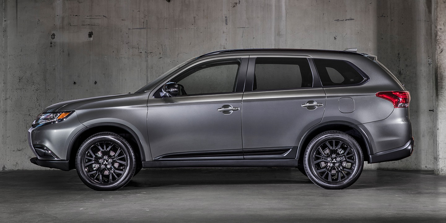 Make a dramatic statement on every drive with the Outlander LE.