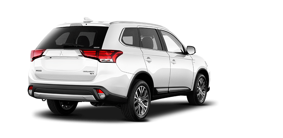 Diamond white pearl 2018 Mitsubishi Outlander Exterior 360 View