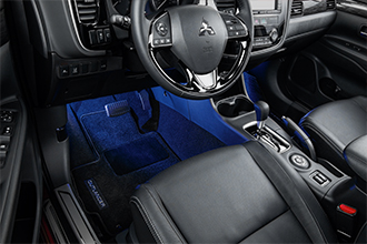 Floor illumination 2019 Mitsubishi Outlander accessories