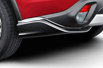 rear air dams for 2019 Mitsubishi Outlander Crossover
