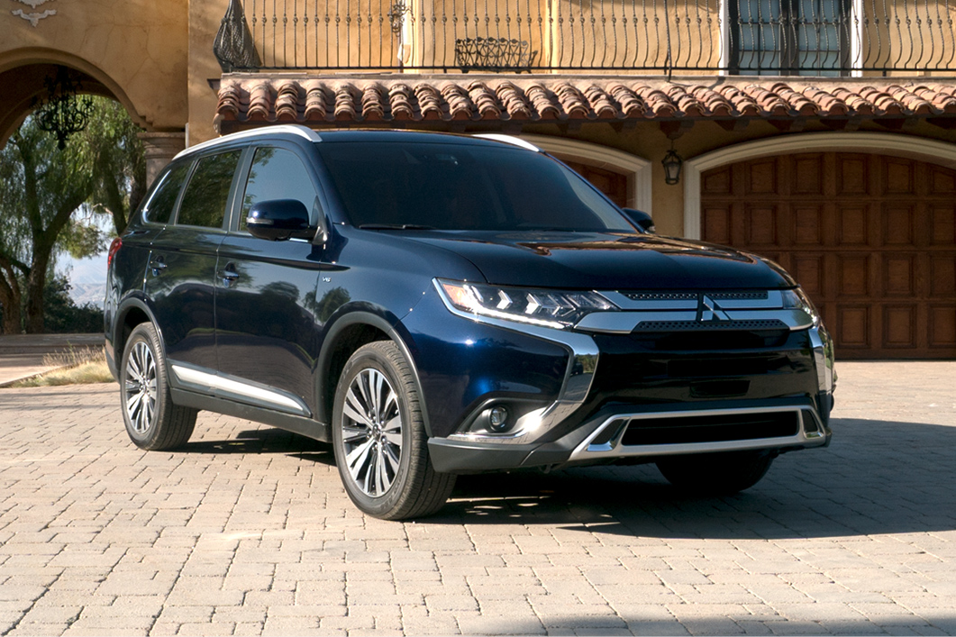 new 2019 mitsubishi outlander for sale near leon valley tx san antonio tx lease or buy a. Black Bedroom Furniture Sets. Home Design Ideas