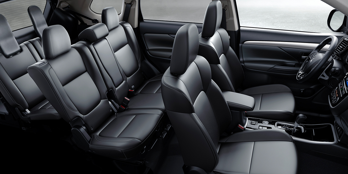 Get more room for your life, with spacious third row seating in the 2019 Outlander.