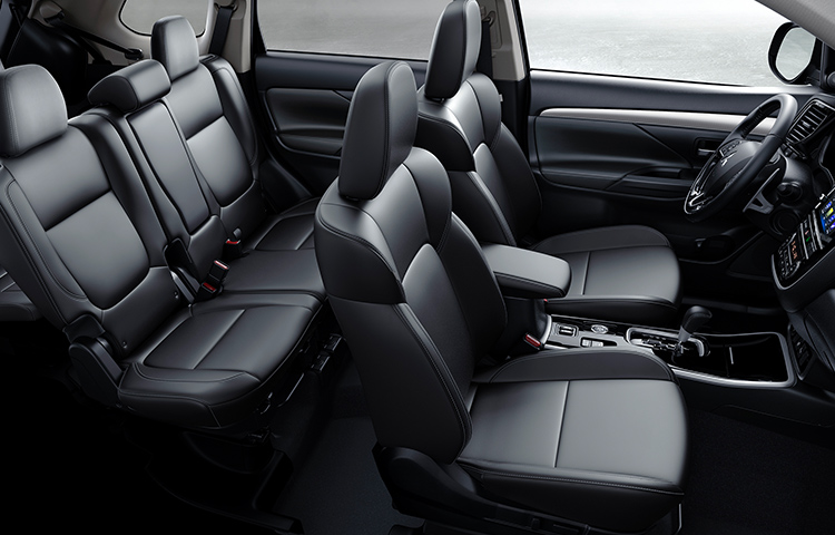 Get more room for your life, with spacious third row seating in the 2019 Outlander crossover.