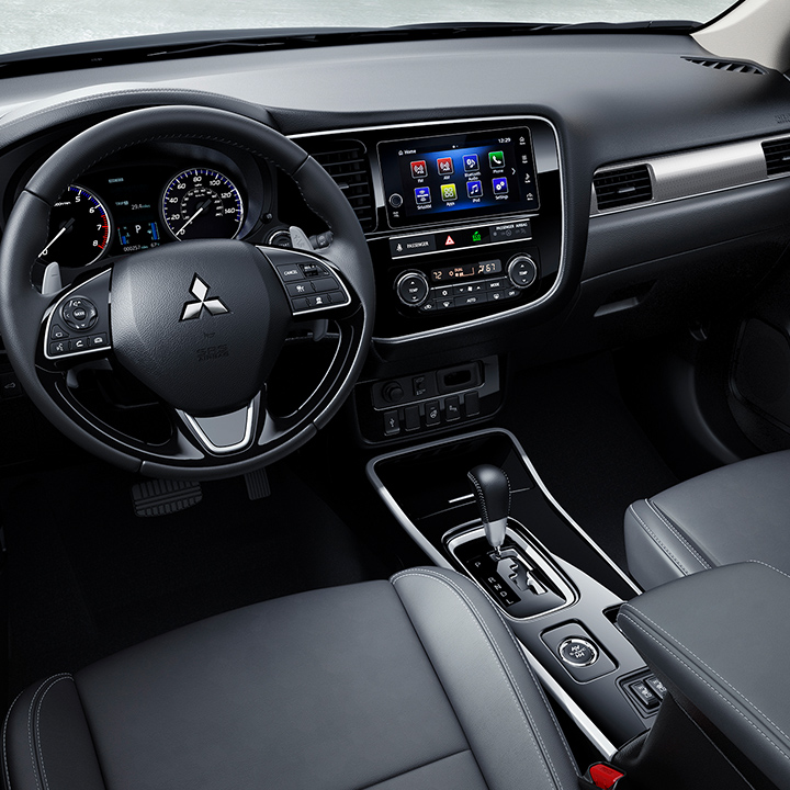 Climb inside a 2019 Outlander and enjoy new features for both drivers and passengers.