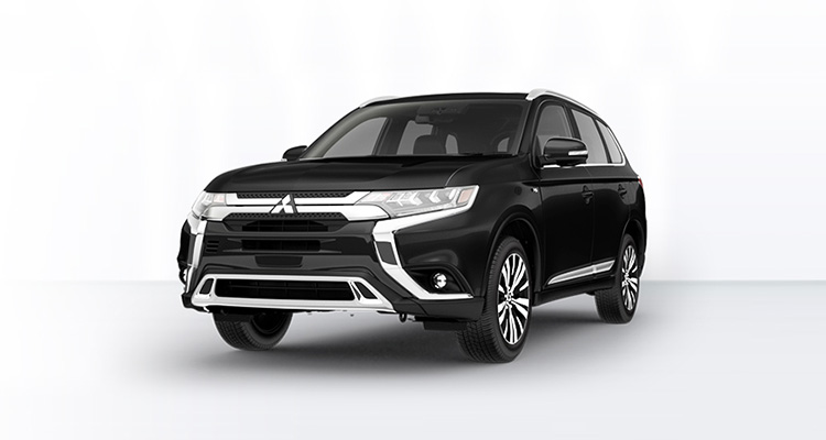 2019 Mitsubishi Outlander front grille and bumper