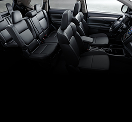 Calm Interior 2019 Mitsubishi Outlander