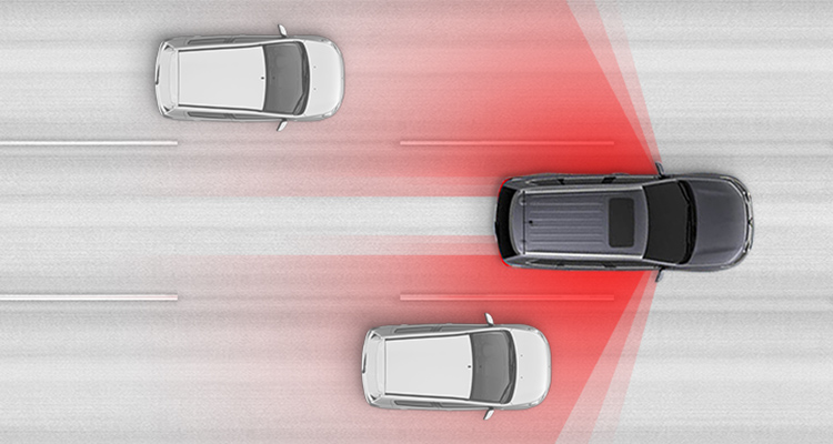 Together Blind Spot Warning and Lane Change Assist help you safely change lanes by alerting you when a vehicle is in or approaching your blind spot.