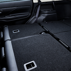 Cargo Space of 2020 Mitsubishi Outlander crossover SUV