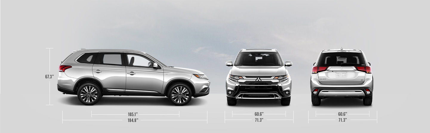 2020 Mitsubishi Outlander Length