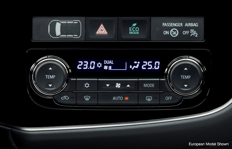 Enjoy every modern convenience, including dual-zone automatic climate control.