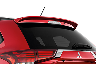 large rear spoiler on 2018 Mitsubishi Outlander PHEV Crossover SUV