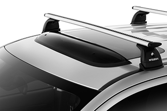 sunroof wind deflector accessory on 2018 Mitsubishi Outlander PHEV