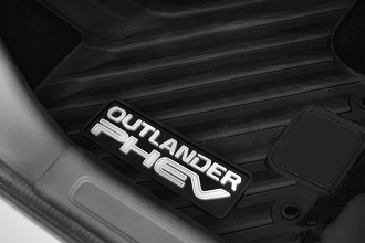 all weather floor mat accessory in 2018 Mitsubishi Outlander PHEV Crossover
