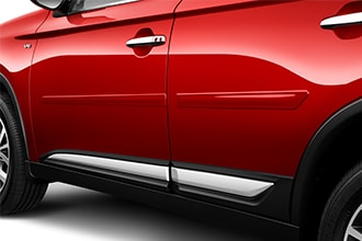 side molding accessories for 2018 Mitsubishi Outlander PHEV doors