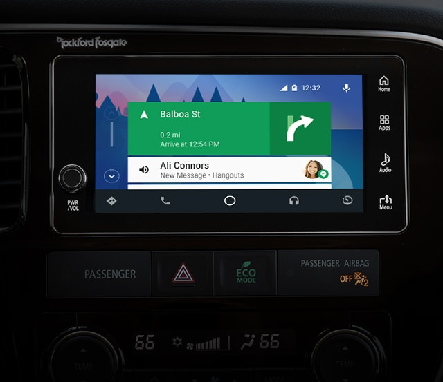 Outlander PHEV 2018 Android Home