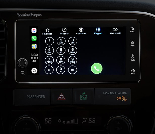 Outlander PHEV 2018 Apple Dialer