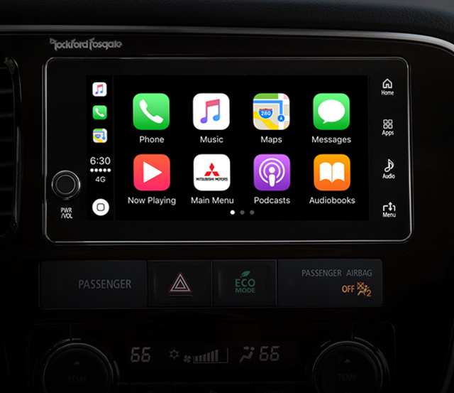 Outlander PHEV 2018 Apple Home