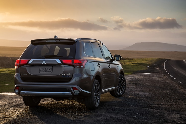 Super All Wheel Control on the Outlander PHEV gives you improved traction and control.