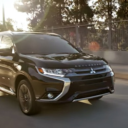 phev outlander mitsubishi 2018 plug in hybrid video