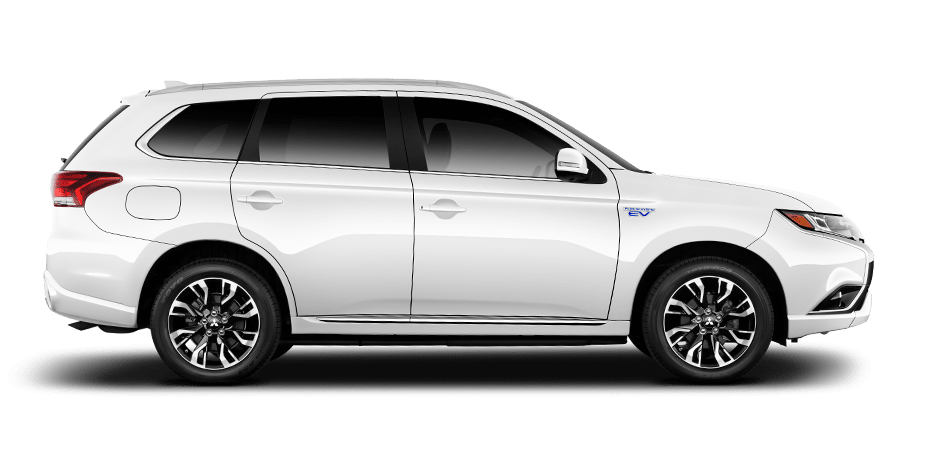 Image result for 2018 white Outlander PHEV