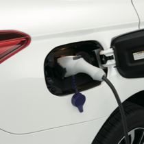 2021 Mitsubishi Outlander PHEV SUV electric charging port connected